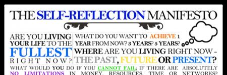 The self-reflection manifesto
