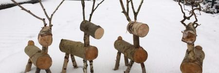 Hand gemaakte Winter creaties