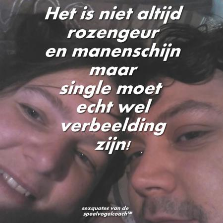 Single is verbeelding