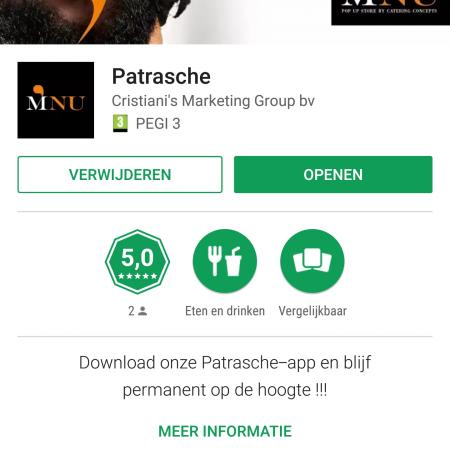Download de app van patrasche