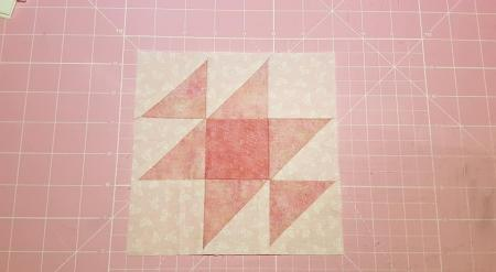 Hand Pieced Quilt Along 2019-02 - the first two blocks