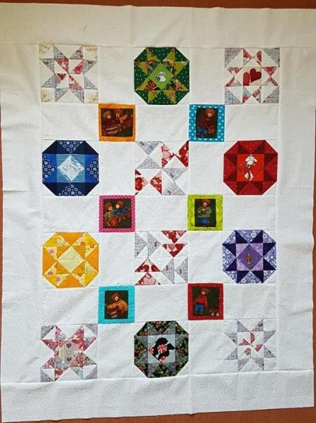 Hand Pieced Quilt Along 2019-03 - The top is finished