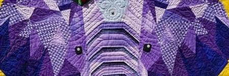 The story behind a quilt #1 - Birthday Girl (Elephant Abstractions)