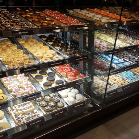 Dunkin donuts persopening