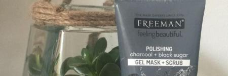 Review | Freeman charcoal gel mask