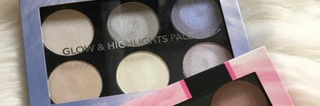 Review | Glow & Highlight palette action