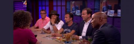 &op tv met Stadsmormels en RTL Late Night
