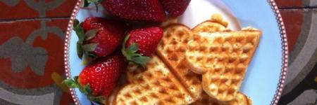 Wafel topping