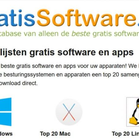 Grais software voor Windows, Mac en Linux.