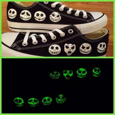 glow in The dark NBC shoes