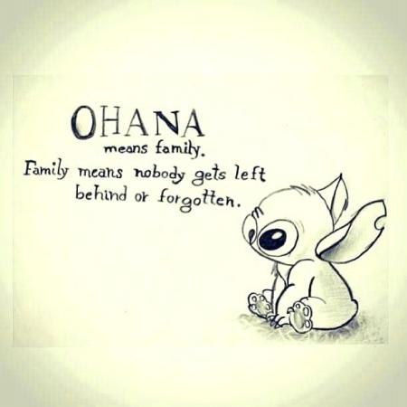 Quote van Disney Lilo en Stitch