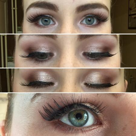 Make up look - All day brown