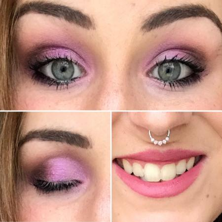 Make up Look - pink fever