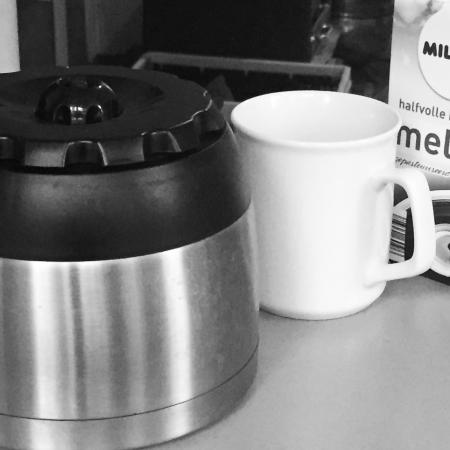 Black and White Challenge - dag 1 - Koffie