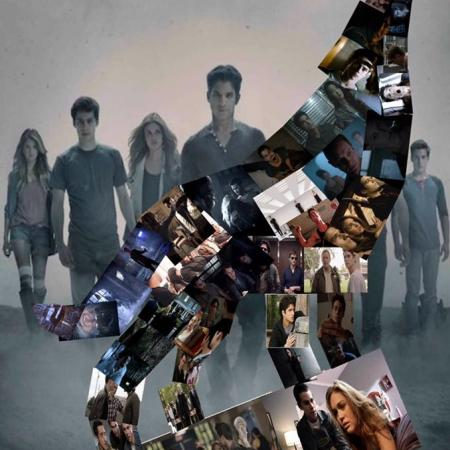 Teen Wolf collage
