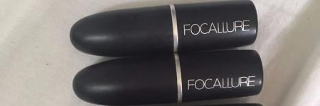 Review: Focallure lipsticks