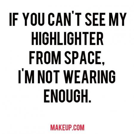 Make-up quote