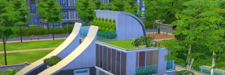 Sims 4 - Speed Builds - Futuristic Modern Eco Home