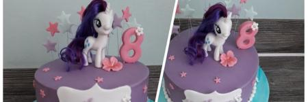 My little pony fondant topper tutorial Cupcake