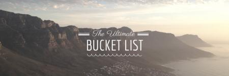 Mijn bucket list