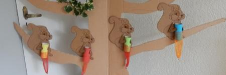 DIY Herfstspel Decoratie
