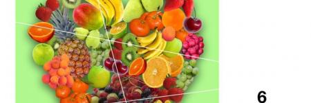 Fruitpuzzel maken in thema Fruit