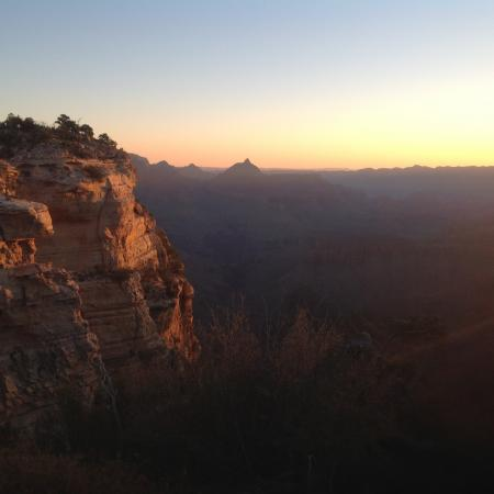 Zonsopkomst Grand Canyon
