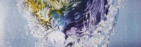 SNOW BLIZZARD ... Encaustic-Art.