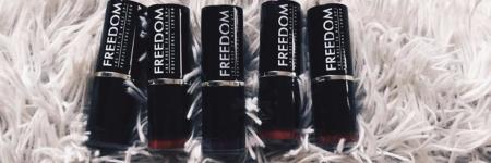 REVIEW FREEDOM LIPSTICKS
