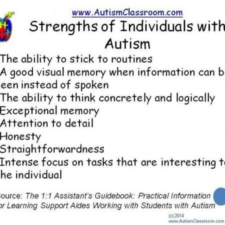 Strengths of Individuals with Autism ♡