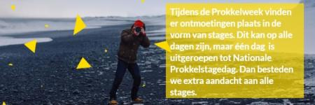 Nationale Prokkelstage- dag