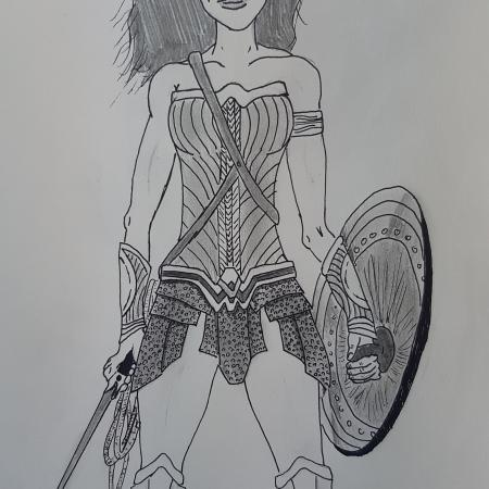 Wonder Woman (my own