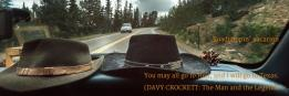 Roadtrippin' vacation   You may all go to Hell, and I will go to Texas. (DAVY CROCKETT:  The Man and the Legend)