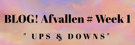 BLOG! Afvallen # Week 1 ups & downs