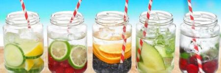 Recept 10 x fruit infused water