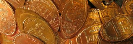 Memodailles en Pressed (elongated) pennies