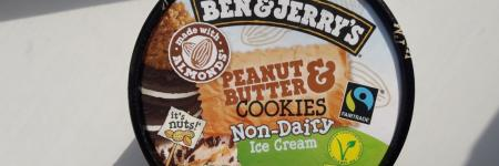 Vegan Ben & Jerry's PB&Cookies review