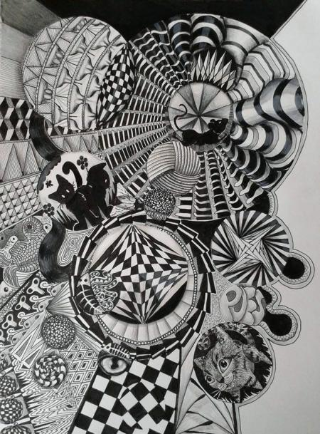 Workshop: zentangle met een thema!