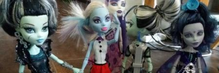 Monster High, eenzaam rood